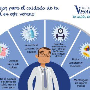 Consejos para el cuidado de tu salud este verano